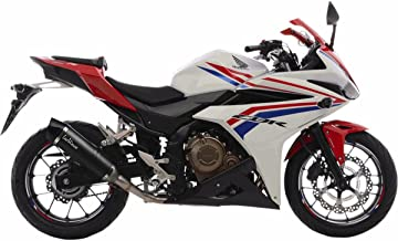 16-18 Honda CBR500R: Leo Vince LV One EVO Slip-On Exhaust (Carbon Fiber)
