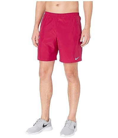 Nike 7 Run Shorts Brief (Noble Red/Reflective Silver) Men