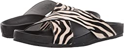 Zebra Pony Leather