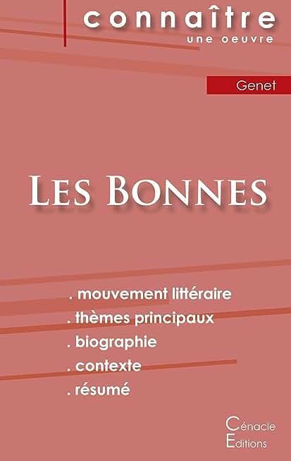 Fiche de lecture Les Bonnes de Jean Genet (analyse littéraire de référence et résumé complet)
