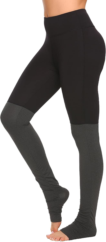 COOrun Women's Workout Leggings Running Tights Yoga Pants