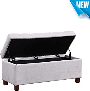 Best white tufted ottoman bench Reviews