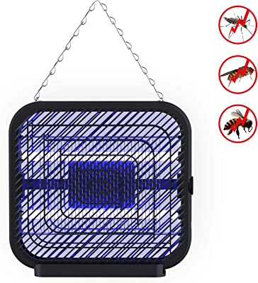 FLASHVIN UV Light Electronic Fly Killer, Mosquito Insect Zapper, Bug Trap Wall-Mounted with 800 sq. ft Large Coverage Area for Indoor Outdoor Home Garden Patio Porch
