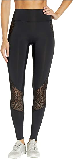 Athleisure Lace Insert Leggings