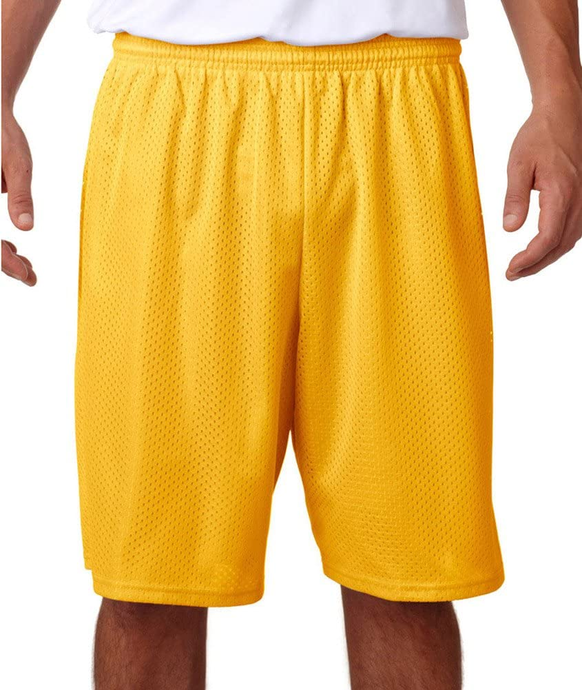 A4 Men's Moisture Wicking Short Mesh Tricot Quantity limited specialty shop Performance
