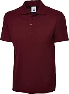 Mens & Womens Classic Polo Shirt Short Sleeve Plain Tee Top Casual Work Sports