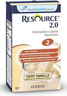 Nestle Clinical Nutrition Resource 2.0 Nutritional Supplement - Doy180100, 1 Pound