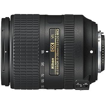 Nikon AF-S DX NIKKOR 18-300mm f/3.5-6.3G ED Vibration Reduction Zoom Lens with Auto Focus for Nikon DSLR Cameras