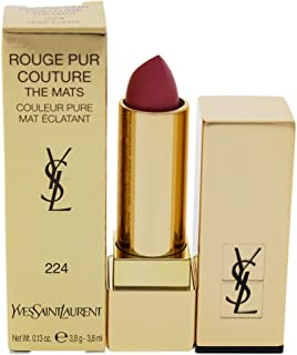 Yves Saint Laurent Rouge Pur Couture The Mats, 224 Rose Illicite, 3.8 g