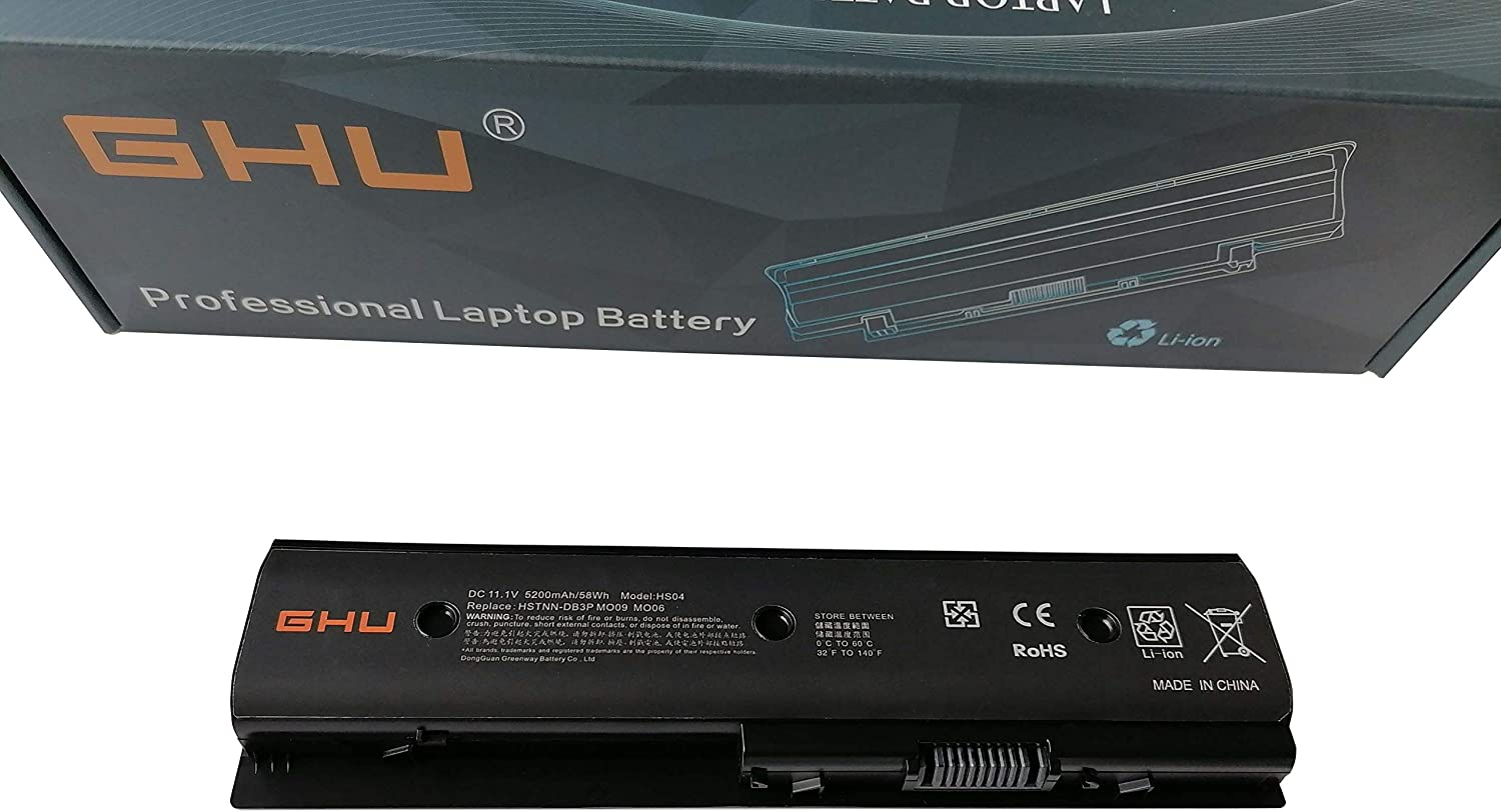 New Ranking TOP20 GHU 58 Wh MO06 MO09 67 Replacement Laptop Battery 5 ☆ popular 671731-001