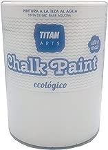 Chalk Paint Titan Pintura a la Tiza Ecológica 750 ml (200 Merengue Blanco)