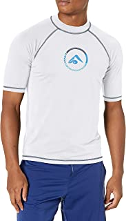 Kanu Surf mens Haywire UPF 50+ Sun Protective Rashguard Swim Shirt Rash Guard Shirt