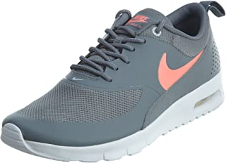AIR MAX THEA (GS) Girls Running-Shoes 814444-007_7Y - Cool Grey/Lava Glow-Pure Platinum-White