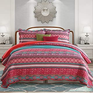 patchwork king size bedspreads