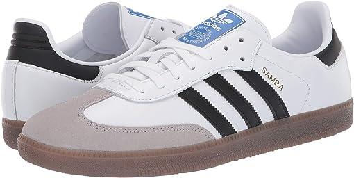 Footwear White/Core Black/Clear Granite