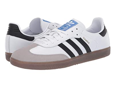 adidas Originals Samba OG (Footwear White/Core Black/Clear Granite) Shoes