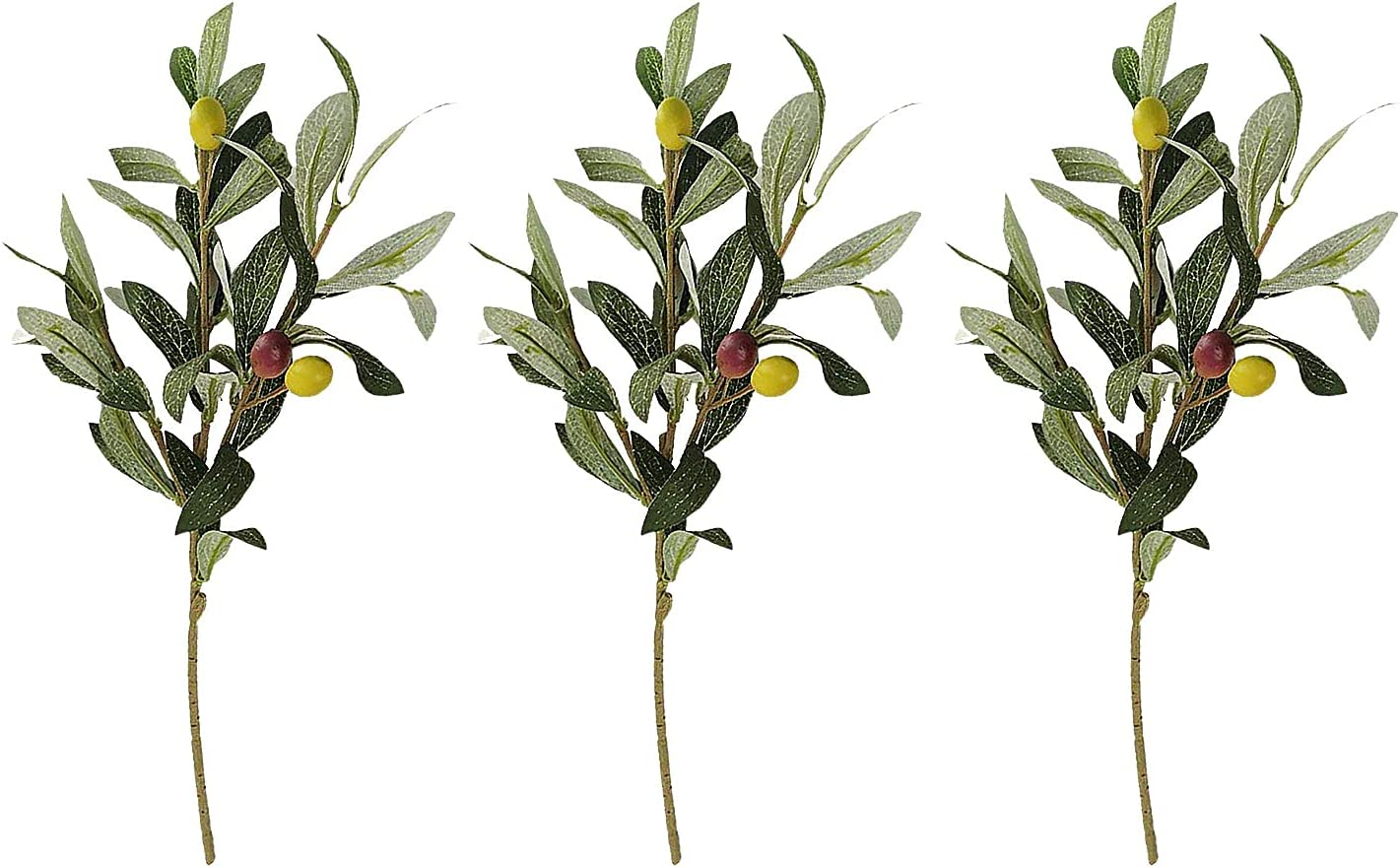 2021 autumn and winter new MSUIINT Artificial Olive SALENEW very popular Leaves Stem Tree Branches 14.2 I