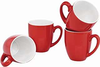 coffee mugs red