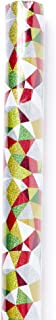 Hallmark Signature Holiday Wrapping Paper with Cut Lines on Reverse, Multicolored Foil (25 sq. ft.)