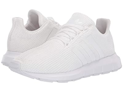 adidas Originals Kids Swift Run J (Big Kid) (White) Kids Shoes