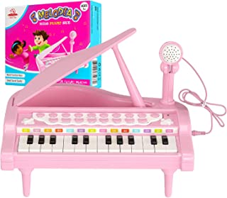 Melodia Kids Piano Set with 24 Keys - Musical Toy for Children Aged 1 and Above-Safe & Fun Musical in