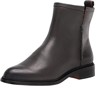 Franco Sarto Women's Hixton Ankle Boot, Dark Grey, 9