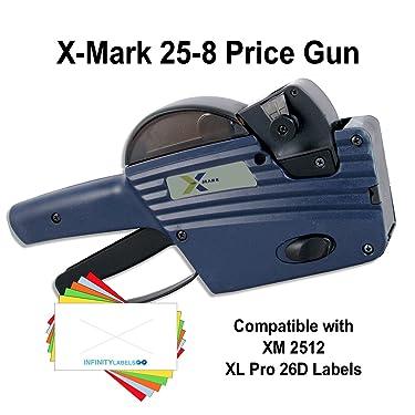 X-Mark Price Gun: TXM 25-8 [1 Line / 8 Characters]