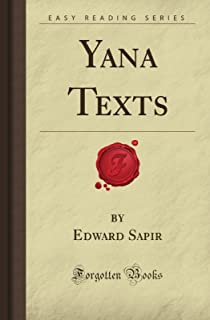 Yana Texts (Forgotten Books)