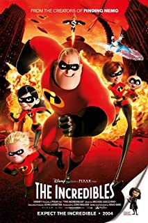 "The Incredibles - (24"" X 36"") Movie Poster"