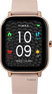 Timex Unisex Metropolitan S Smartwatch with Silicone Strap