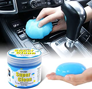 SYOSIN Car Cleaner for Car Detailing Tools Keyboard Cleaner Automotive Interior Cleaning Car Detailing Supplies Dust Cleaning Mud for Car Air Vent, Laptops, Printers,Calculators