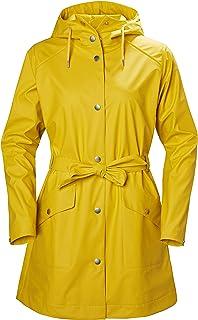 Helly Hansen Kirkwall Ii Waterproof Pu Belted Rain Coat with Hood