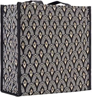 Signare Tapestry Shoulder Bag Shopping Bag for Women with Luxor Art Deco Style