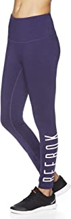Women's 7/8 Workout Leggings w/High-Rise Waist - Performance Compression Tights