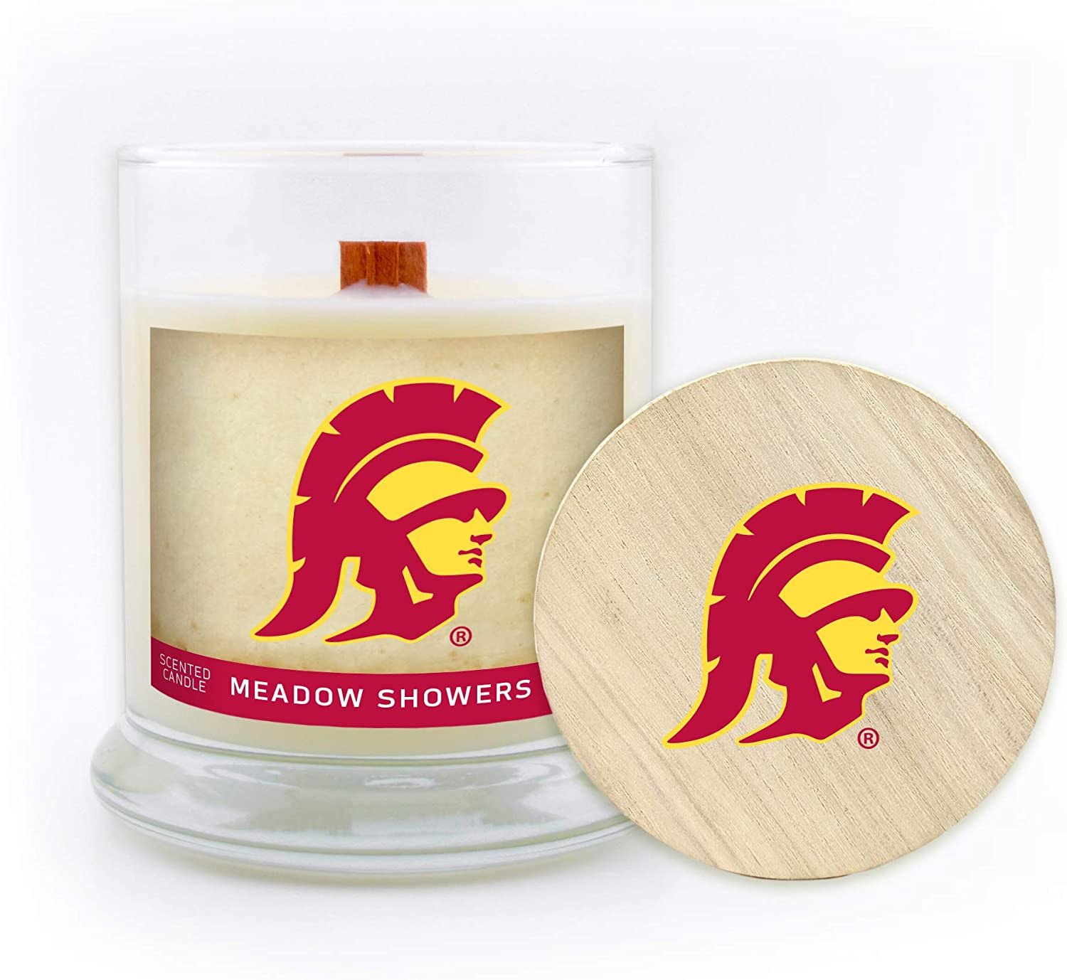 Sweet Peach Worthy Promo NCAA Missouri Tigers Scented Candle 5.8 Oz