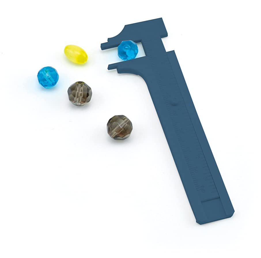 Beadalon Slide 80mm Bead Gauge, Econo Plastic