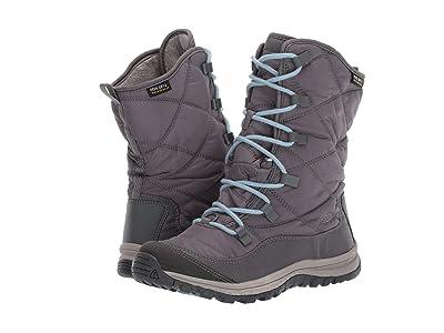 Keen Terradora Lace Boot Waterproof (Steel Grey/Forget Me Not) Women