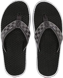 (Checkerboard) Obsidian/True White
