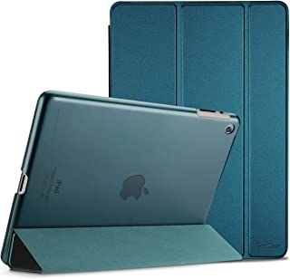 Procase iPad 2 3 4 Case (Old Model) – Ultra Slim Lightweight Stand Case with Translucent Frosted Back Smart Cover for Apple iPad 2/iPad 3 /iPad 4 –Teal