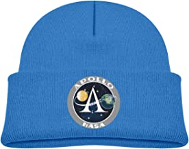 NASA Apollo 11 50th Anniversary Soft Cute Kids Beanies Hats for Baby