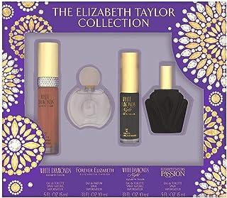 Elizabeth Taylor Fragrance Collection Coffret 4 Piece Set for Women
