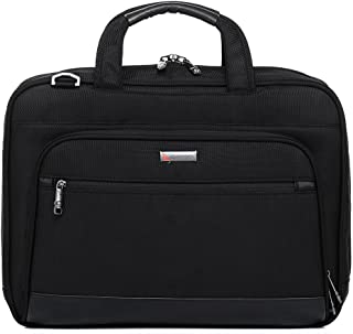QANTAS Slim Briefcase, (Black), (QF2-A)