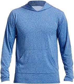 Gildan Mens Performance Hooded Long Sleeve T-Shirt