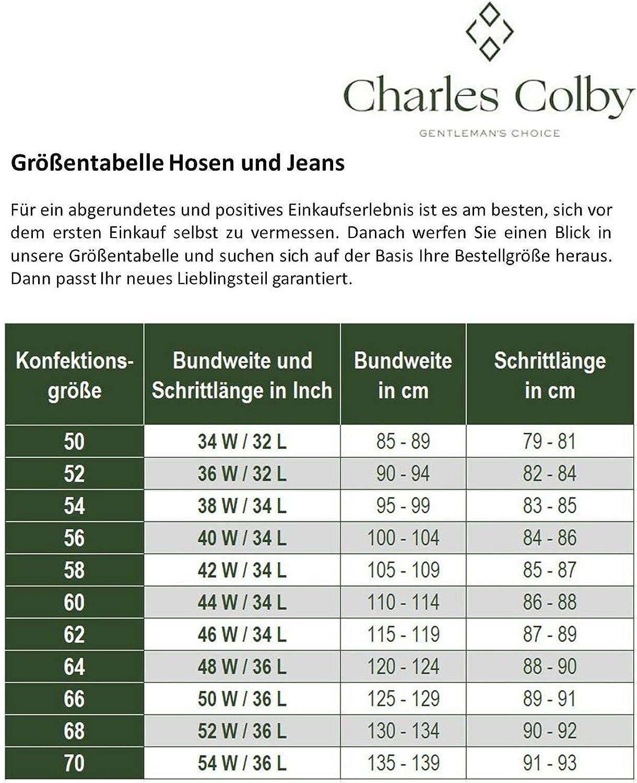 Charles Colby Herren Hose Aurelius Dunkelblau