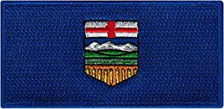Alberta Flag Embroidered Patch Canadian Province Iron-On Canada National Emblem