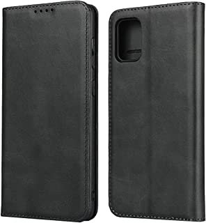 Funda con tapa para Samsung Galaxy A31, color negro