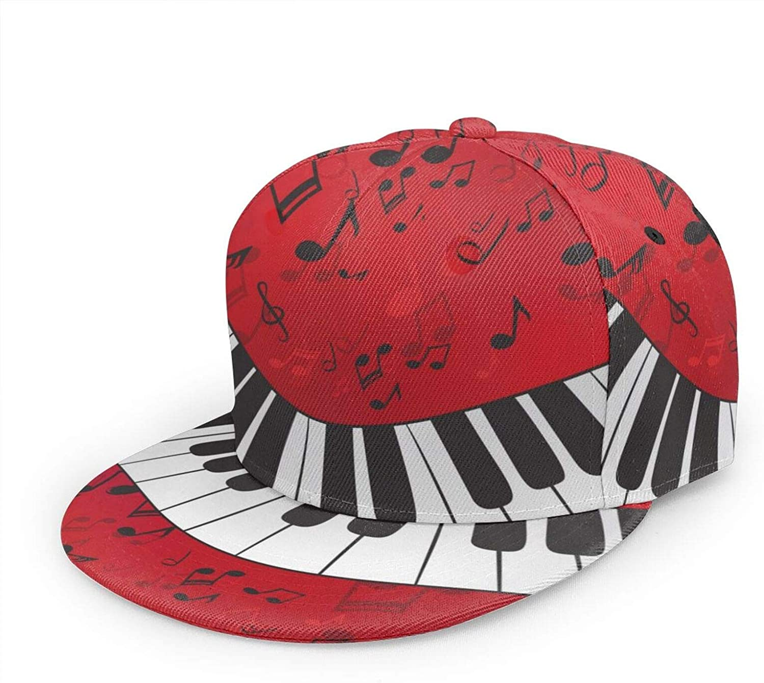 MFILUDTY Hip Hop Baseball Cap Free Shipping New Music Hat Note Adjustable Piano Un Special Campaign