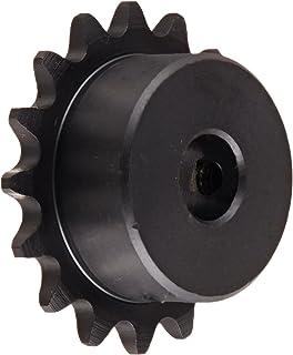 JA Bushing Required Tsubaki 35JA30 Roller Chain Sprocket #35 ANSI No. 3//8 Pitch 3//8 Pitch QD Design Single Strand 30 Teeth