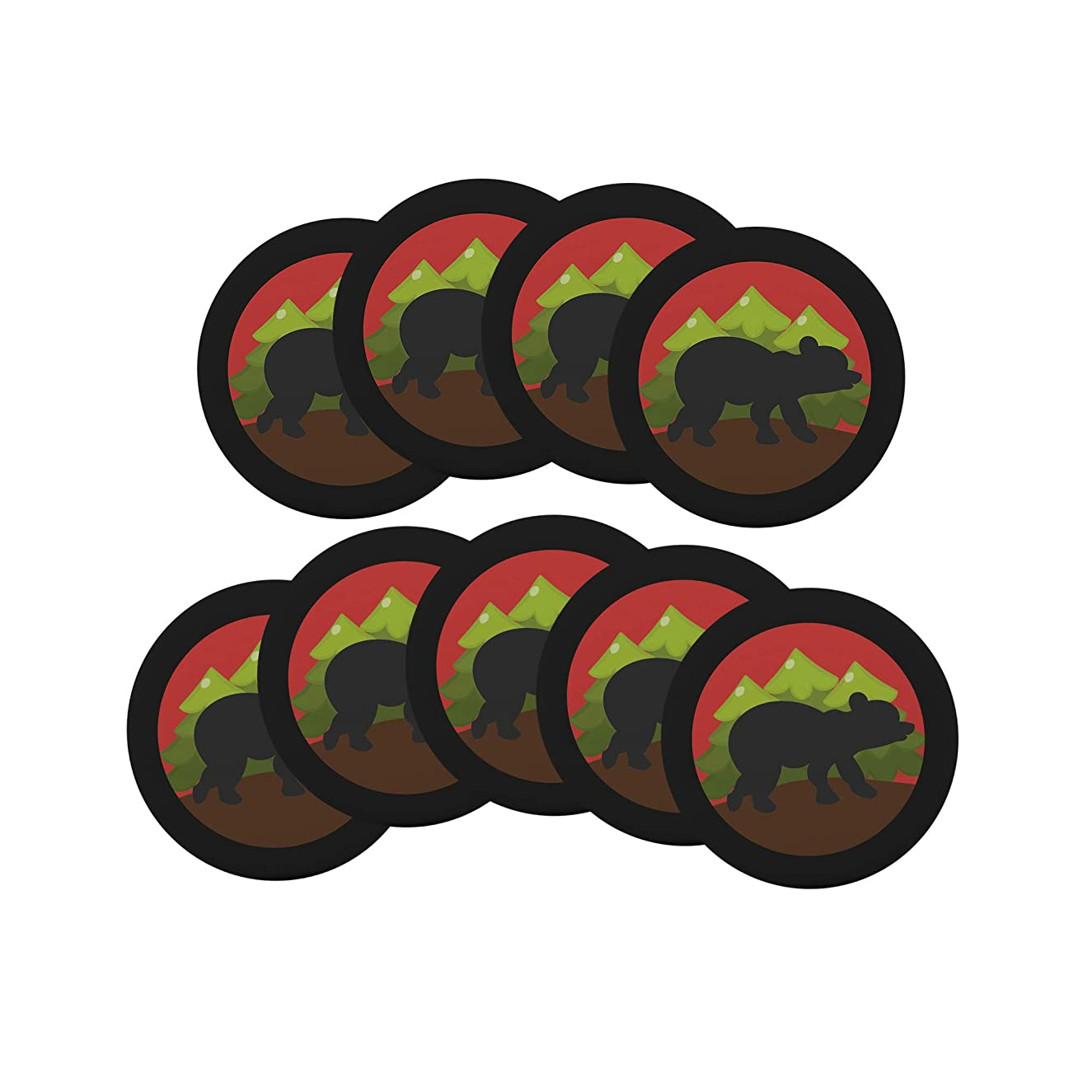 Lumberjack 9-Pack Pin Back Button Birthday Party Favors Supplies Badge 2.25-inch Round Boy Girl