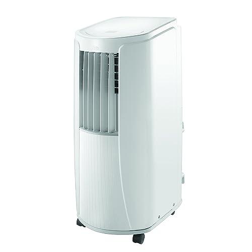 Argo SLIMMY Climatiseur Mobile Monobloc 9000 btu et Fonction Déshumidificateur, Blanc Brillant